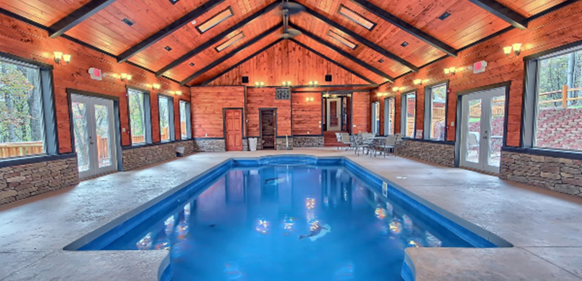 Four Luxurious Lodges In Hocking Hills With Heated Indoor Pools